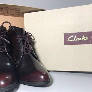 Clark's KADRI ALEXA, burgundy leather